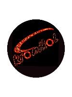 KrOnikOL skateboard brand Sticker 4 x 4 Circle