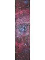 Galactica Custom longboard griptape