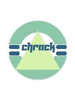 Chrack Sticker 4 x 4 Circle