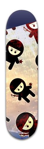 Ninja! Ninja! Ninja! Banger Park Skateboard 8 x 31 3/4