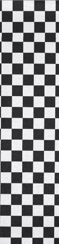 Checkerboard B/W Custom longboard griptape
