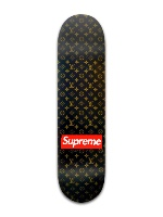 LV Supreme Banger Park Skateboard 8 x 31 3/4