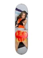 Ride Hard Banger Park Skateboard 8 x 31 3/4