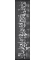 NYC Skyline Custom longboard griptape