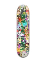 Rick and Morty Banger Park Complete Skateboard 7 3/8 x 31 1/8
