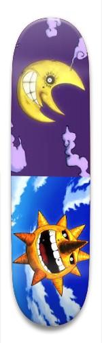 Soul Eater Sun and Moon Park Skateboard 8.5 x 32.463