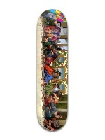 CLOUT BOARD Banger Park Skateboard 8 x 31 3/4