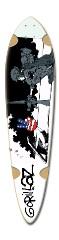 Gorillaz Dart Board Deck Dart Skateboard Deck v2