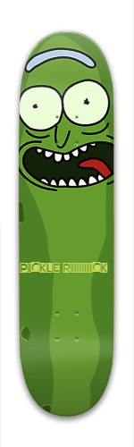 Pickle Rick Park Skateboard 8 x 31.775