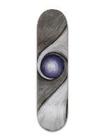 Blue Zen Stone Banger Park Skateboard 8 x 31 3/4