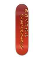 """SAVAGE Skateboards 8"""" fade deck Banger Park Skateboard 8 x 31 3/4"""