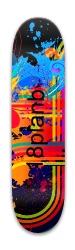 18planb custom deck Park Skateboard 7.88 x 31.495