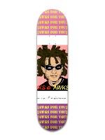 """awks for you 8"""" Banger Park Skateboard 8 x 31 3/4"""