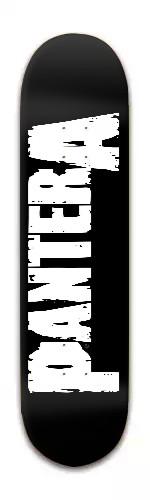 Pantera metal skateboard Banger Park Skateboard 8 x 31 3/4