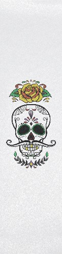 Sugar skull Custom longboard griptape