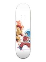 Saitama vs Goku SG Banger Park Skateboard 8.5 x 32 1/8
