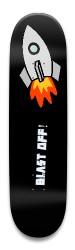 RocketPower Park Skateboard 8.5 x 32.463