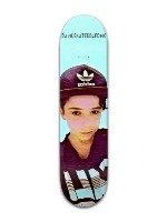 davidskateboarding Banger Park Skateboard 7 7/8 x 31 5/8