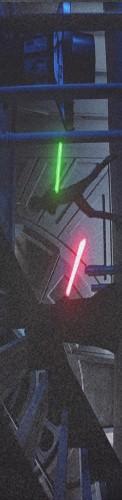 lightsaber duel Custom longboard griptape