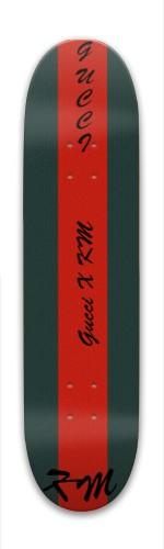 Gucci X KM Park Skateboard 8 x 31.775