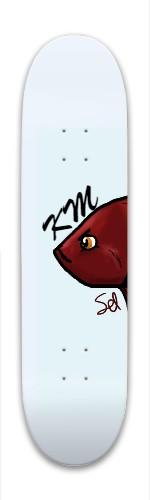 KM-Sel Park Skateboard 8 x 31.775