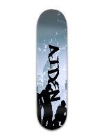Sick board Banger Park Skateboard 8 x 31 3/4