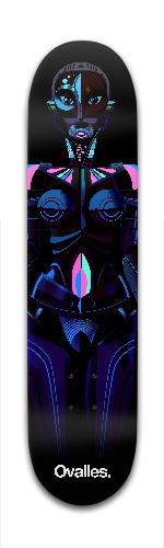 Dark Robota Banger Park Skateboard 7 3/8 x 31 1/8