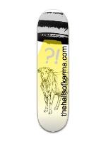 Alien Abduction Banger Park Skateboard 8 x 31 3/4