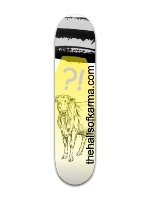Alien Abduction Banger Park Skateboard 7 3/8 x 31 1/8
