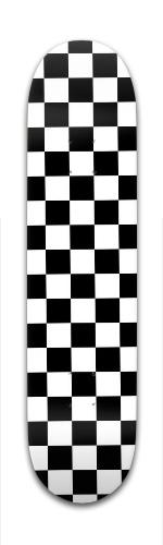 Checkered Banger Park Complete Skateboard 7 3/8 x 31 1/8