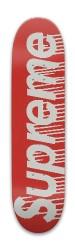 Supreme Line Logo Park Skateboard 8 x 31.775