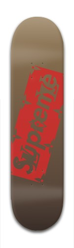luipreme Banger Park Skateboard 7 7/8 x 31 5/8