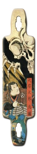 Japanese Samurai Art Board Splinter 40 Fiber Lam (9.75 x 40)