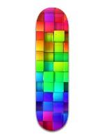 Rainbow Pixels Banger Park Complete Skateboard 8.5 x 32 1/8
