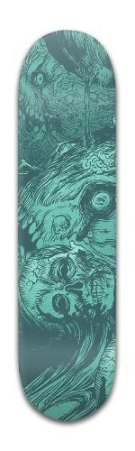 Berserk Panel Board Banger Park Skateboard 8 x 31 3/4