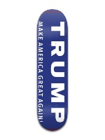 The Trump Machine Banger Park Skateboard 8 x 31 3/4