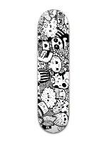 Awesome Doodle Banger Park Skateboard 8 x 31 3/4
