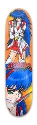 Samurai Princess Park Skateboard 8 x 31.775