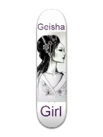 Geisha Girl Banger Park Skateboard 7 7/8 x 31 5/8
