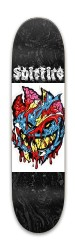 Spitfire Colored Zombie Park Skateboard 8 x 31.775