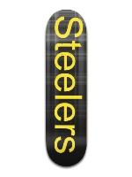 Steelers sk8eboard Banger Park Complete Skateboard 8.5 x 32 1/8