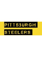 Pittsburgh Steelers Sticker 11.5  x 3.75 Bumper Sticker