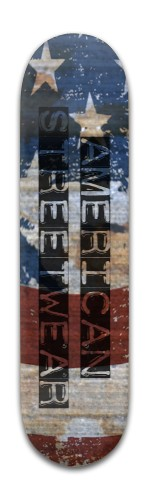 AMERICAN Streetwear Banger Park Skateboard 8 x 31 3/4