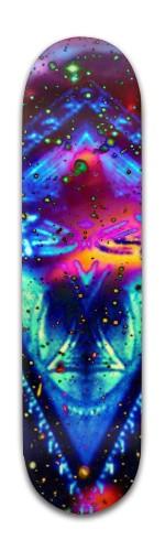 Star Chart One Banger Park Skateboard 8 x 31 3/4