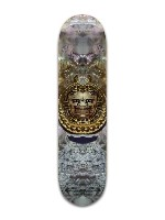 Abalone Warrior Banger Park Skateboard 8 x 31 3/4