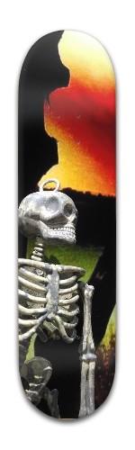 Mr. Bones Pose Banger Park Skateboard 8 x 31 3/4
