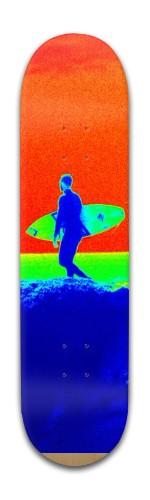 Wave Rider Banger Park Skateboard 8 x 31 3/4