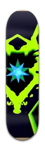 God Particle Banger Park Skateboard 8 x 31 3/4