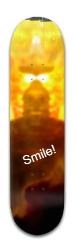 Smile! Banger Park Skateboard 8 x 31 3/4