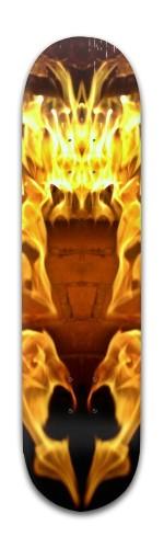Fire Fuel Banger Park Skateboard 8 x 31 3/4
